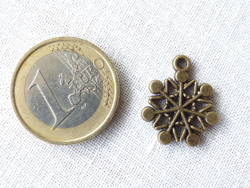 FLOCON DE NEIGE bronze