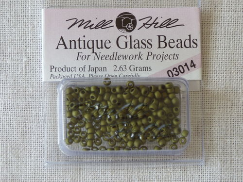 Perle Mill Hill Antique  Glass  Beads 03014
