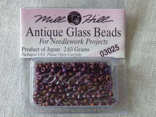 Perle Mill Hill Antique  Glass  Beads 03025