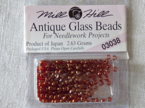 Perle Mill Hill Antique  Glass  Beads 03038
