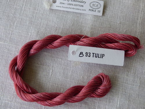 Perlé n°12 HOUSE OF EMBROIDERY COL 93B TULIP